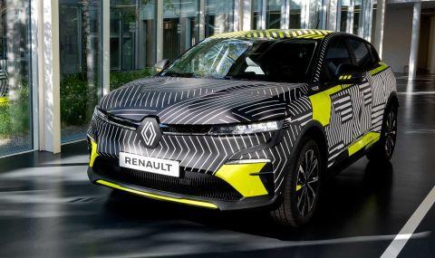 Renaultпредстави електрическиMeganeс 217 конски сили - 6