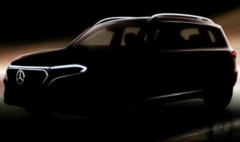Mercedes представя електрически SUV на 18 април