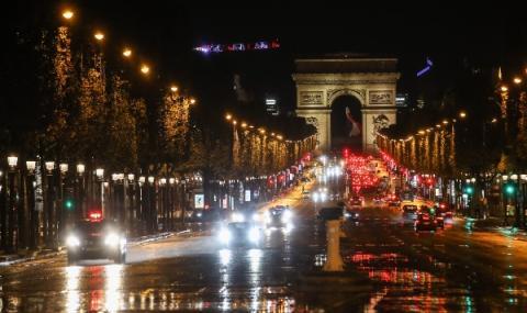 Огромни задръствания в Париж