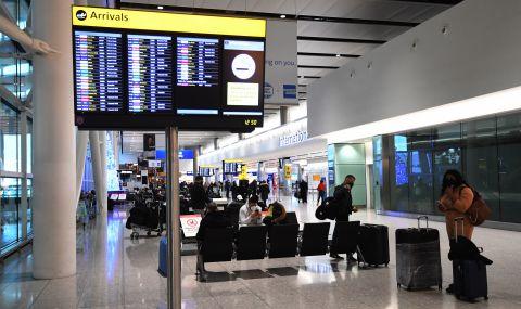 Англия ще изисква отрицателен тест от пристигащите
