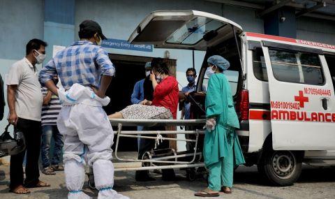 Извън контрол! Смъртните случаи от COVID-19 в Индия надхвърлиха 200 000