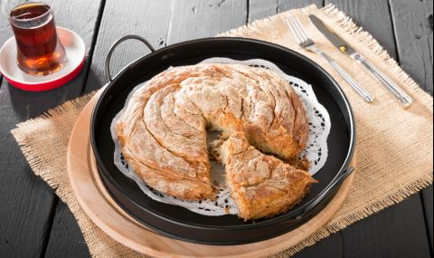 Рецепта на деня: Сладка баница с тахан халва