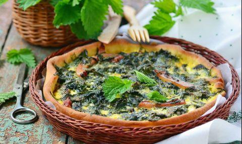 Рецепта за вечеря: Пай с коприва