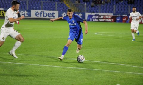 Арда и Славия не се победиха в първи мач от полуфиналите за Купата (ВИДЕО)