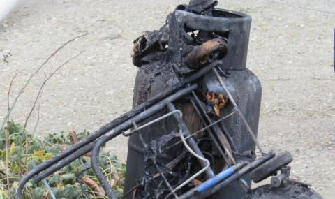 Взрив на газова бутилка в апартамент в Добрич