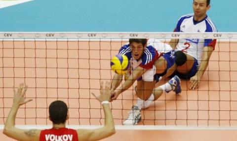 Налагат ястребово око на Световната лига по волейбол