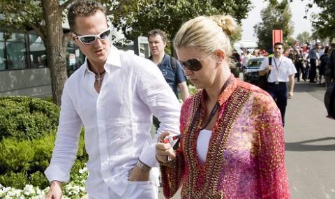 Съпругата на Шумахер каза за състоянието му