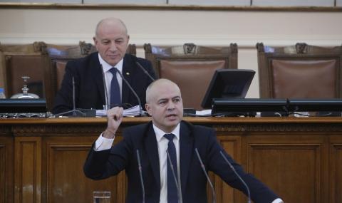 Свиленски показа плика с предварително избрани членове на комисия