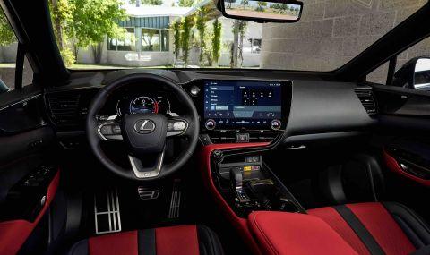 Lexus показа обновения NX с първото за марката plug-in хибридно задвижване - 10