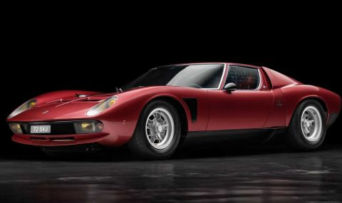 Едно от най-редките класически Lamborghini-та бе обявено за продажба - 1