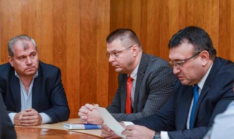 Представиха новия директор на ОДМВР-София