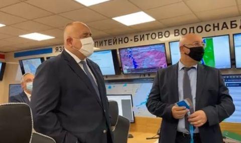Борисов направи изненадващо посещение, иска информация за мръсната вода