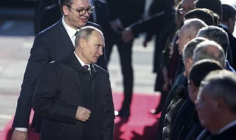 Сърбия: Помощта от Русия потвърди приятелството ни