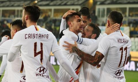 Рома излъга Парма и е на 1/4-финал за Купата на Италия (ВИДЕО)