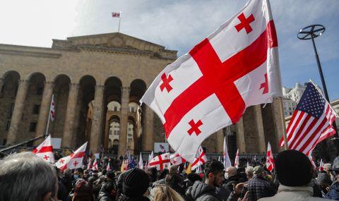 Групата на Саакашвили се завърна в парламента в Грузия