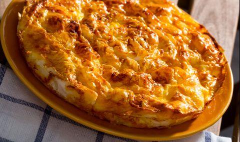 Рецепта на деня: Сиропирана баница със сирене