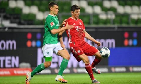 Играчите от Бундеслигата избраха Левандовски за най-добър