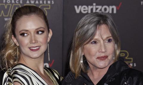 Дъщерята на Кари Фишър стана майка за пръв път (СНИМКА)