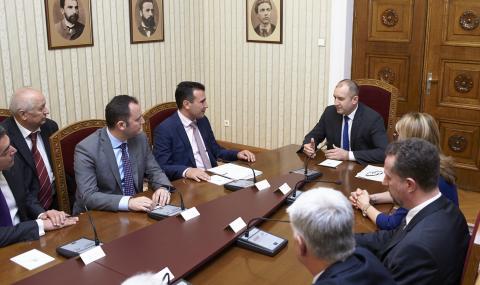 Заев при Радев: България е най-големият приятел на Македония - 1