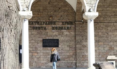 Дезинфекцират около храмовете в София преди големите празници