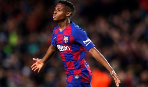 Кошмарът на младия талант на Барселона продължава