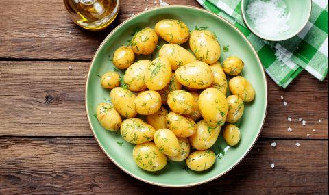 Рецепта на деня: Друсани пресни картофи