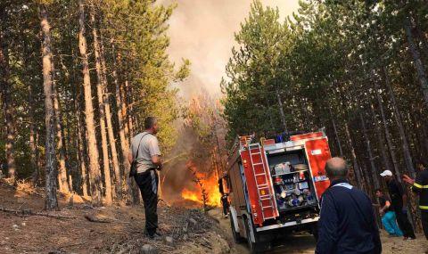 Екстремален индекс за пожароопасност в шест области