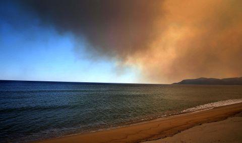 Невероятно явление на плажа в Халкидики - 1