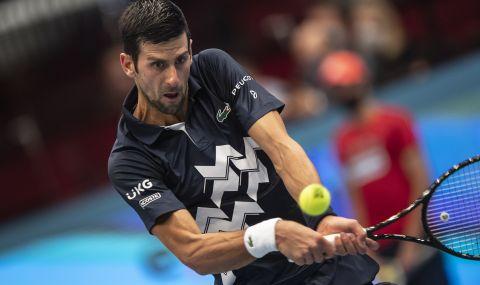 Джокович е на полуфинал в Рим след драматичен успех над Циципас