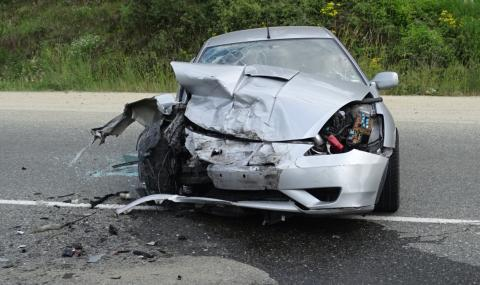Един ранен при катастрофа в Ловешко