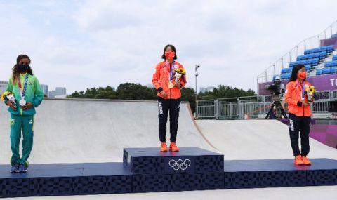 13-годишна японка стана олимпийска шампионка - 1