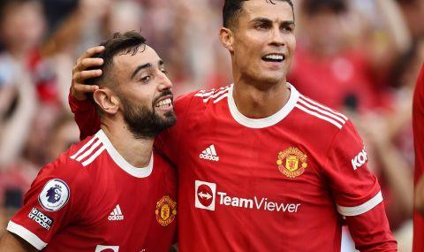 Манчестър Юнайтед срази Нюкасъл, а Роналдо ознаменува завръщането си с два гола - 1