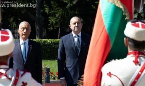 Втори ден от посещението на португалския президент у нас