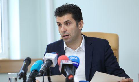 Кирил Петков проведе среща с търговските представители зад граница