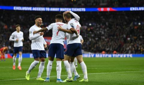 Англия се измъкна срещу Исландия с гол в добавеното време