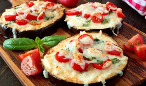 Рецепта за вечеря: Мини пици от патладжан