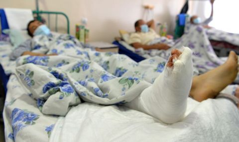 Десетки жертви в конфликта с Таджикистан