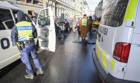 Голям протест във Финландия