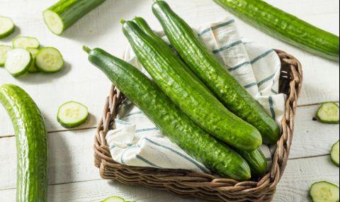 Ако ядете по 2 краставици на ден, тялото ви ще...  - 1