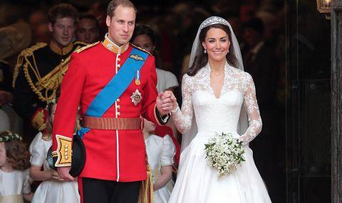Уилям и Кейт отпразнуваха 10 г. брак със специално ВИДЕО