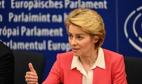 Фон дер Лайен предупреди еврочиновниците: Спазвайте противоепидемичните мерки!