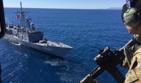 Турски вестник представи военен сценарий за превземане на гръцки острови