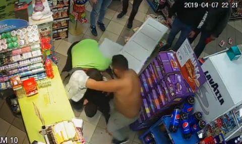Затвор за циганите, пребили магазинер в Габрово (ВИДЕО)