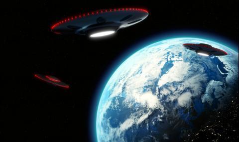 Флотилия от НЛО кръжи около Земята (ВИДЕО)