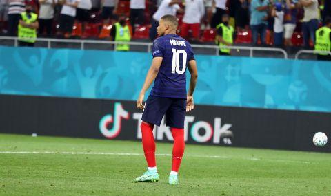 Мбапе притесни всички в националния тим на Франция - 1