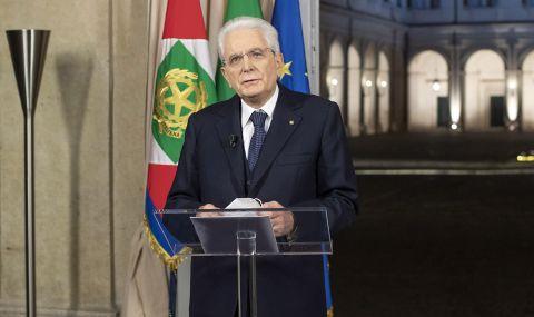 Президентът на Италия призова да бъде прието европейското споразумение
