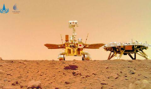 Нови СНИМКИ на Марс от китайския марсоход