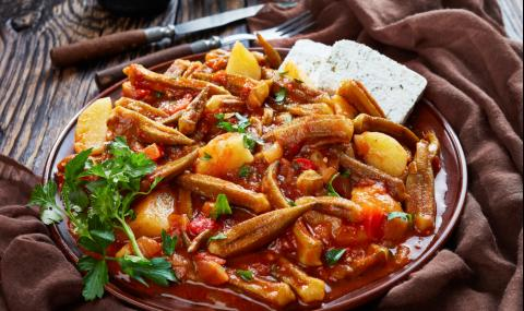 Рецепта за вечеря: Бамя по гръцки