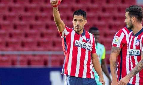 Суарес впечатли Диего Симеоне при дебюта си