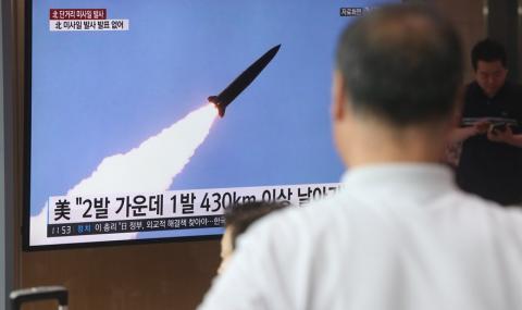 САЩ и Япония ще прихващат по нов начин ракетите на Северна Корея